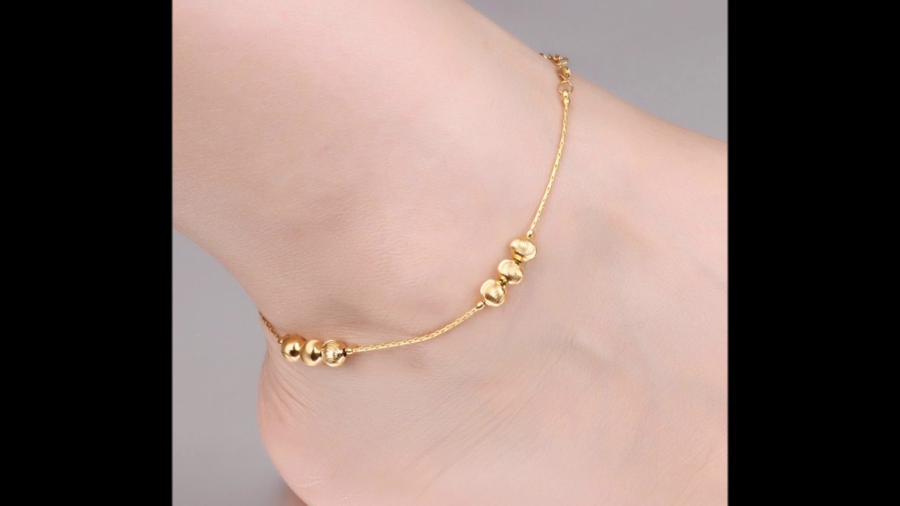 Stylish Anklets for Girls    ATGP Channel - YouTube