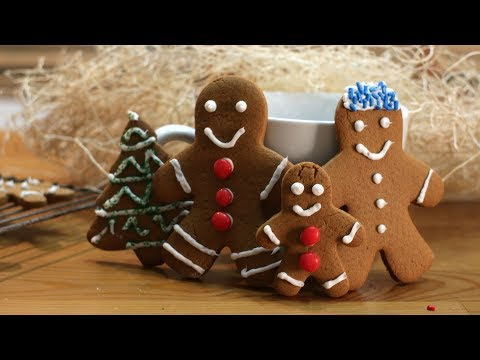How to Make Gingerbread Cookies | Easy Gingerbread Men Cookie Recipe