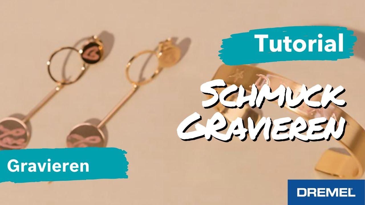 Extrem Schmuck selbst gravieren - DIY für ein persönliches Geschenk - YouTube XB19