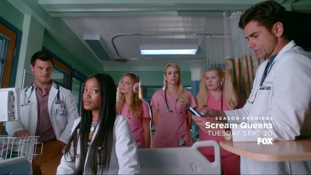 chanel zayday brock holt cassidy cascade hospital scream queens