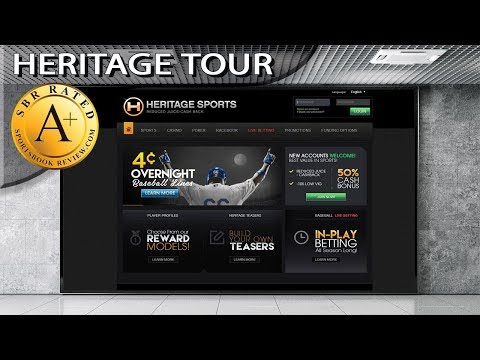 Heritage Sportsbook Tour by Sportsbook Review
