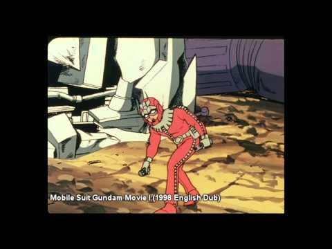 DUB COMPARISON: Sayla Holds Char at Gunpoint Mobile Suit Gundam
