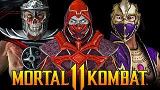 Mortal Kombat 11 - Most Requested Characters for Kombat Pack 2!