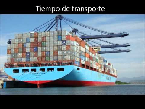 Maritime transport on short distance