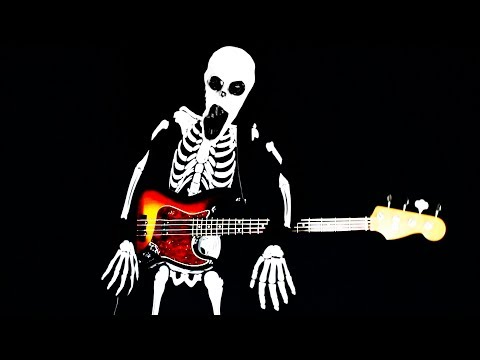 Spooky Scary Bass Guitars