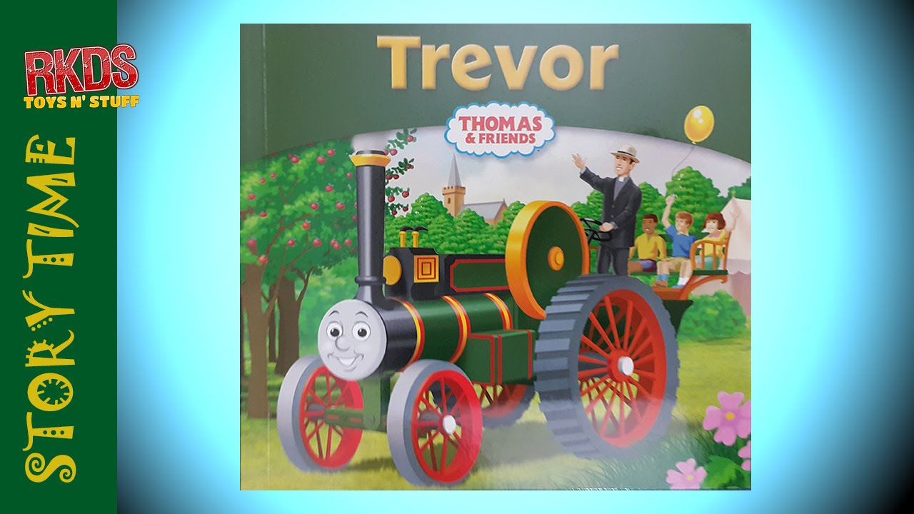 My Thomas Story Library Book 26 Trevor Read Out Loud