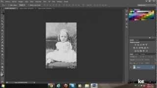 Manejo y uso Herramientas, tampon de clonar, parche, pincel corrector Tutorial // Photoshop