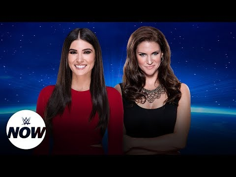 Live Stephanie McMahon WWE Evolution interview: WWE Now thumbnail