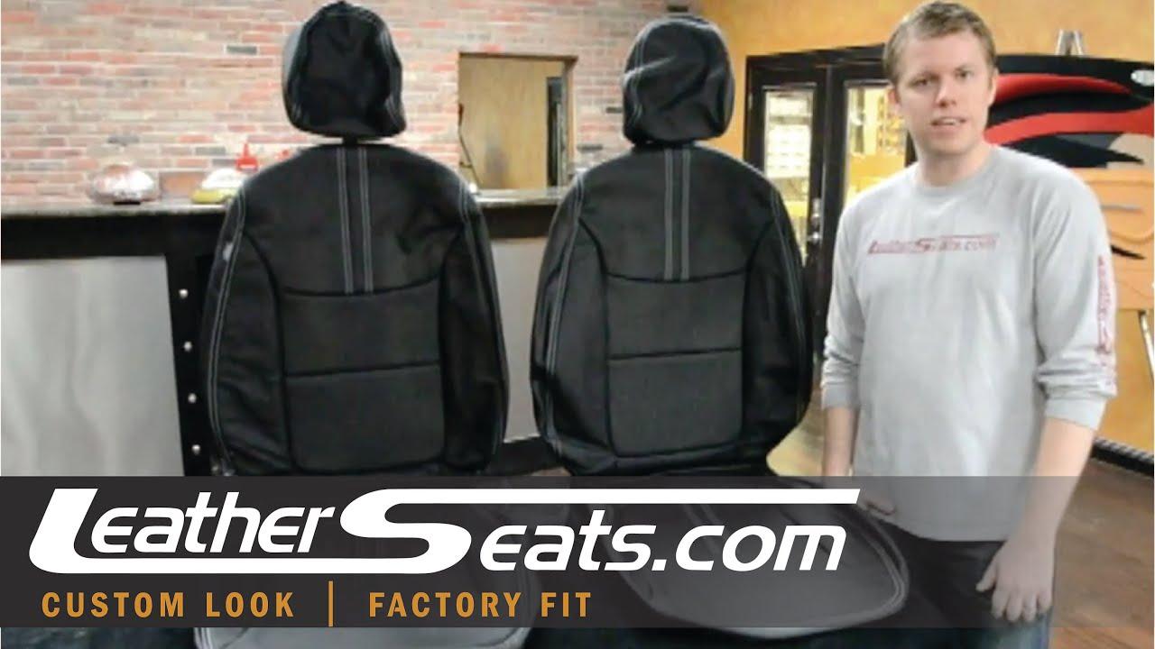 2011 2012 Kia Sorento Black Leather Interior Conversion Upholstery Kit