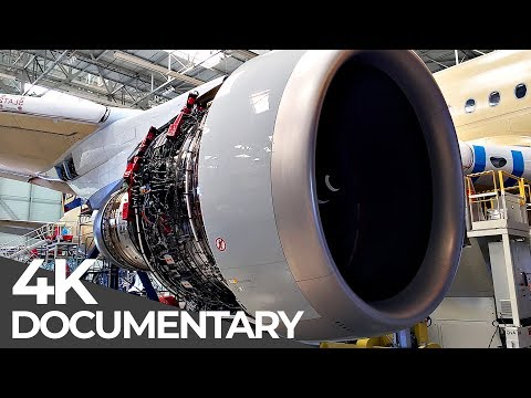 Giant Aircraft: Manufacturing an Airbus A350 | Mega Manufacturing | Free Documentary