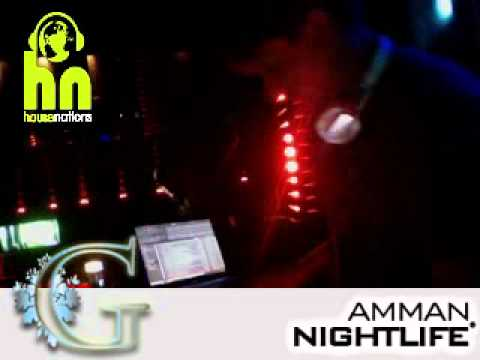 DJ Walterwall - Live @ G Club in Amman, Jordan, Middle East