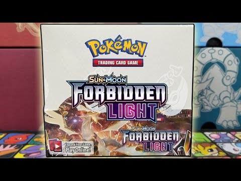 POKEMON FORBIDDEN LIGHT BOOSTER BOX OPENING!!!
