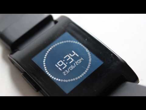 Pebble Studio Clock Watch Face with BBC New Countdown Music