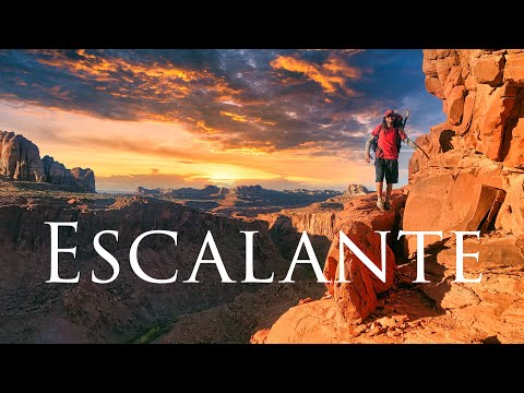 Escalante South & Coyote Gulch Utah, 9 day Remote Desert Canyons Backpacking Loop Off Trail 4K