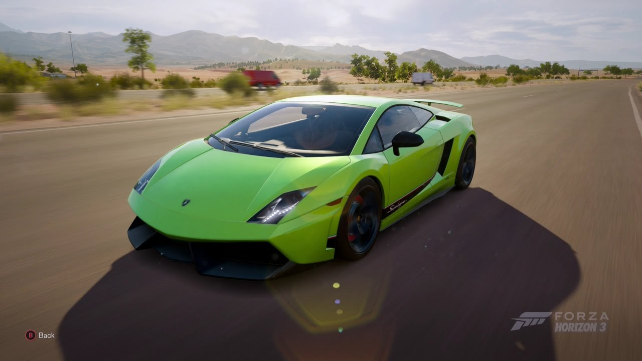 Forza Horizon 3| 2011 LAMBORGHINI GALLARDO LP 570 4 SUPERLEGGERA   YouTube