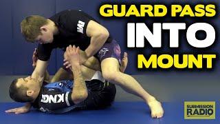 SLICK Butterfly Guard Pass Straight into Full Mount! - by UFC Lightweight Jake Matthews