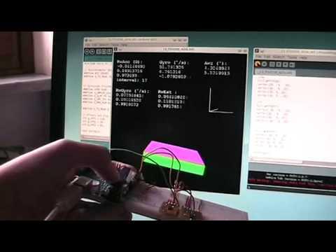 Arduino code for IMU Guide algorithm Using a 5DOF