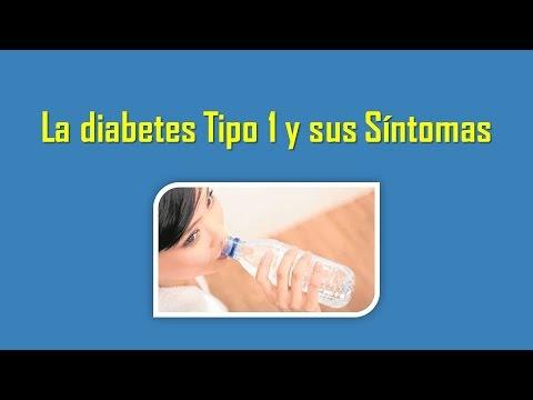 LA DIABETES TIPO 1 Y SUS SINTOMAS - YouTube