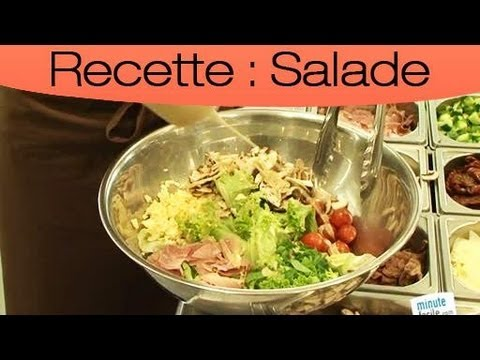 Recette De Salade Composee Youtube