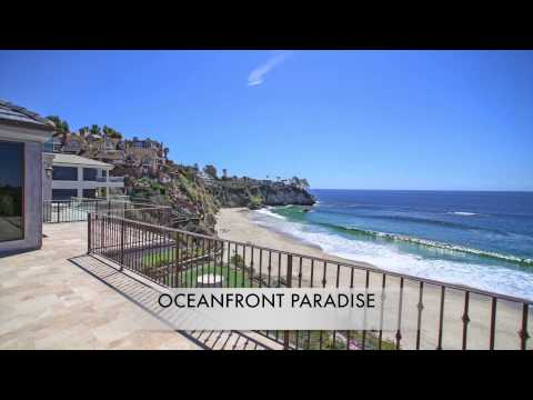 LAGUNA BEACH OCEANFRONT LUXURY REAL ESTATE FOR SALE|29 BAY DRIVE