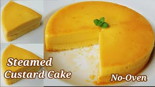 Steamed Custard Cake Recipe Without Oven 🍮| How to Make Custard Cake 🍮🍰 Sobrang Sarap 😋