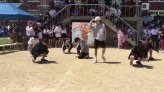 흥진고 홀릭 체육대회 방탄소년단 - 불타오르네(FIRE)