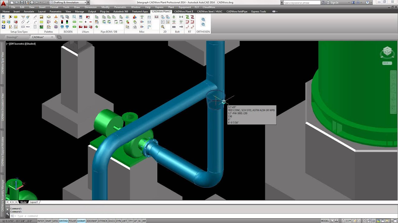 CADWorx Plant Professional - Piping Overview