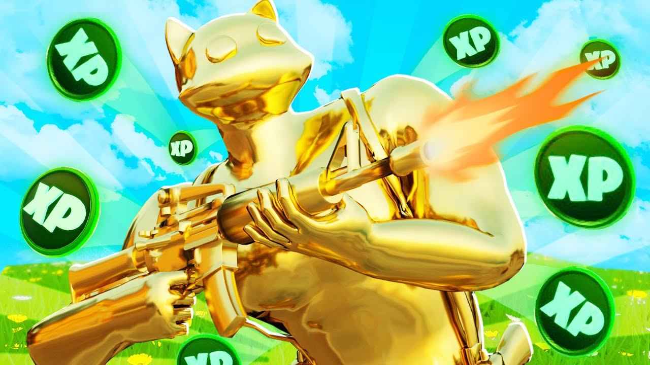 What Happens When Unlocking Gold Meowscles In Fortnite Youtube