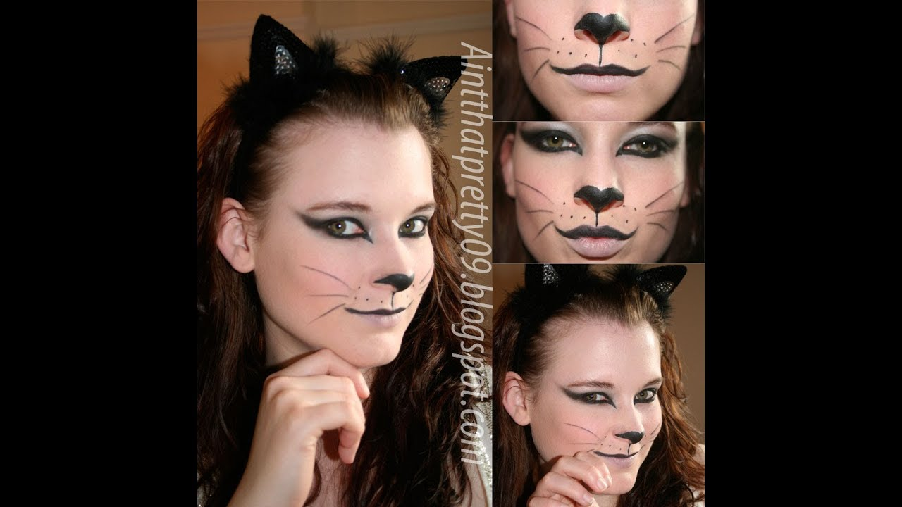 How to do cat makeup for halloween