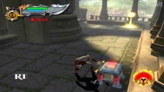 "God Of War 2 Modo Titan Detonado HD (07) ""Cronos Engolidor de Pedras"""