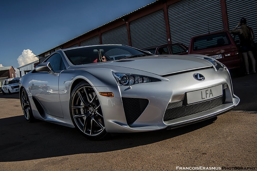Nice Silver Lexus LFA In South Africa At Zwartkops Extreme Festival (Start Up +  Revu0027s)   YouTube