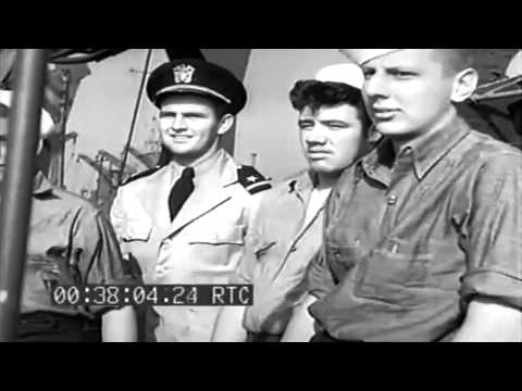 LST Prior To Invasion Of France; Evacuating Casualties, 06/07/1944 (full)