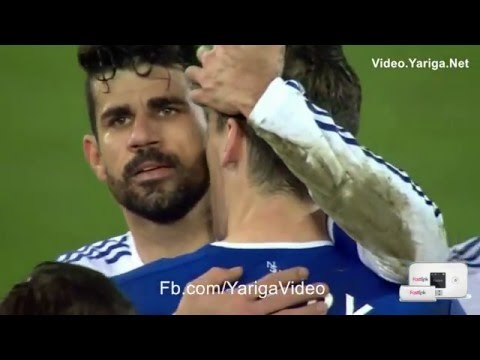 Diego Costa bites Gareth Barry (Red Card) 12/3/2016
