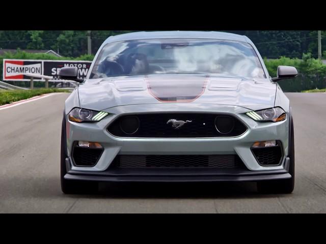 Der neue 2021 Ford Mustang MACH 1