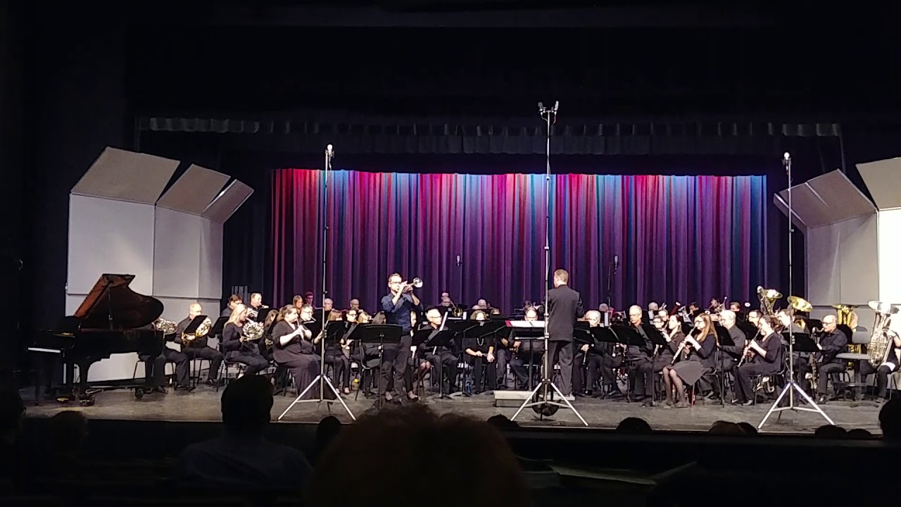 Centennial Horizon composed by Kevin McKee, Trumpet Solo : Dr. Douglas Lindsey