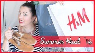 Summer Haul 2016 feat. H&M, Zara, Promod, Asos, Mango ect (Acquisti per l'Estate 2016)  Giugizu