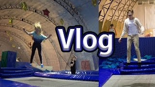 Vlog на батутах с Misha's Blog   Давай лайма
