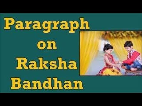 Essay on raksha bandhan