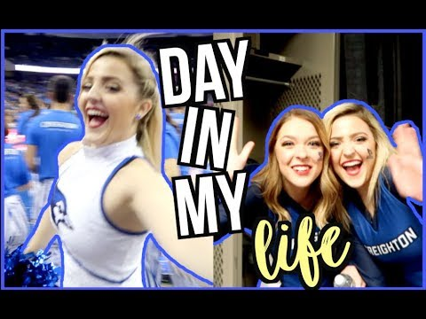 GAME DAY IN MY LIFE | CREIGHTON UNIVERSITY