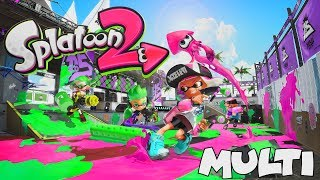 SPLATOON 2 (FR) - MES 1ÈRES PARTIES MULTI (Ft. MAJI) | NINTENDO SWITCH