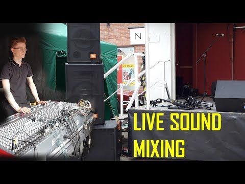 Summer Event Sound Mixing