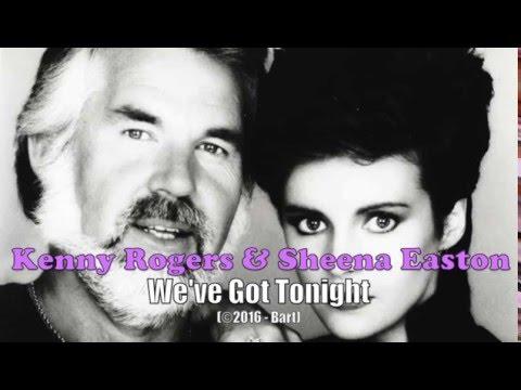 Kenny Rogers Sheena Easton We Ve Got Tonight Karaoke Youtube