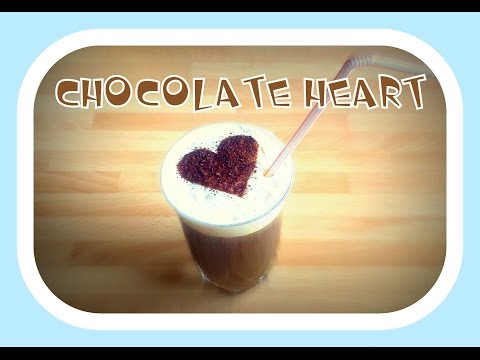 How To Make A Chocolate Heart (on your Coffee)