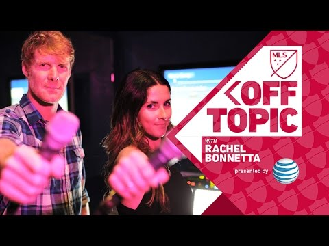 Karaoke sessions with Alexi Lalas | Off Topic w/ Rachel Bonnetta presented by AT&T
