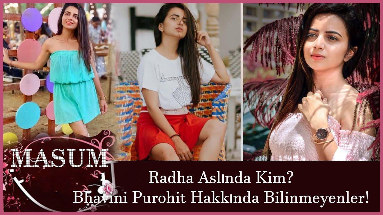 Masum Dizisindeki Radha Aslında Kim? Bhavini Purohit Hakkında Bilinmeyenler!