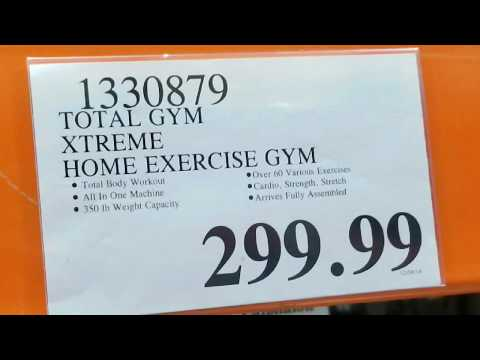 Costco! Total Gym Xtreme Home Exercise Gym $299