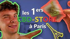Je teste l'un des PREMIERS CBD-STORE de Paris : Le Lab du Bonheur