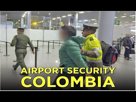 Airport Security Colombia  High Heels