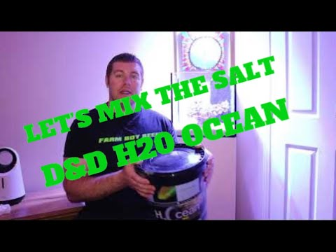 Superman build gets wet with D&D H20 ocean salt lets mix!
