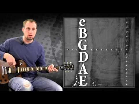 Electric Guitar 101 23 Playing An E Chord Youtube